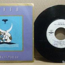 Discos de vinilo: VIDEO / LA LUNA EN MEJICO / SINGLE 7 INCH. Lote 228034897