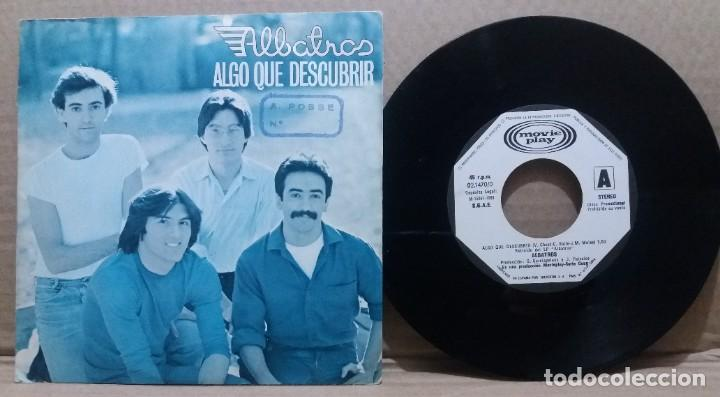 ALBATROS / ALGO QUE DESCUBRIR / SINGLE 7 INCH (Música - Discos - Singles Vinilo - Grupos Españoles de los 70 y 80)