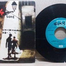 Discos de vinilo: BORDON 4 / JAZMINES VENDO / SINGLE 7 INCH. Lote 228038045