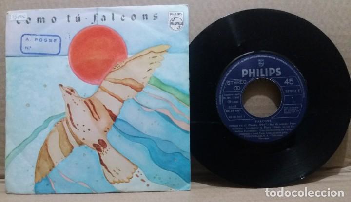 FALCONS / COMO TU / SINGLE 7 INCH (Música - Discos - Singles Vinilo - Grupos Españoles de los 70 y 80)