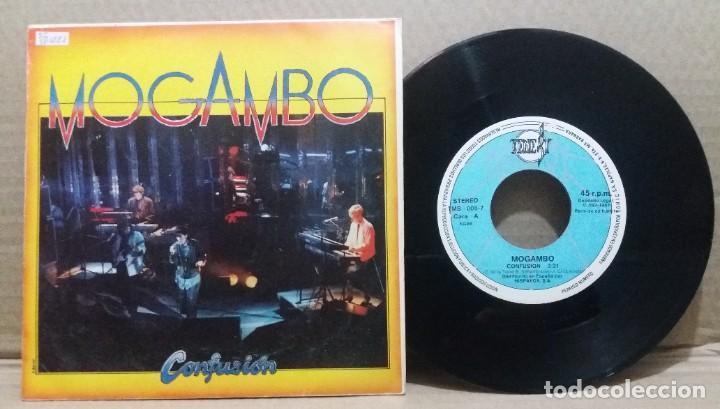MOGAMBO / CONFUSION / SINGLE 7 INCH (Música - Discos - Singles Vinilo - Grupos Españoles de los 70 y 80)