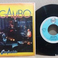 Discos de vinilo: MOGAMBO / CONFUSION / SINGLE 7 INCH. Lote 228038680