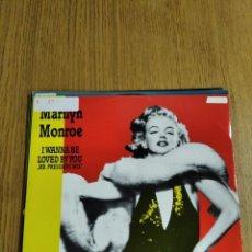 Discos de vinilo: MAXI SINGLE VINILO MARILYN MONROE. Lote 228041315
