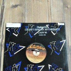 Discos de vinilo: MAXI SINGLE VINILO LADY M. Lote 228055165