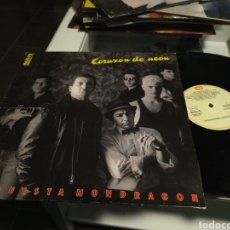 Discos de vinilo: ORQUESTA MONDRAGÓN MAXI CORAZÓN DE NEÓN + 2 1987. Lote 228062900