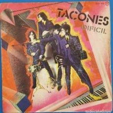Discos de vinilo: SINGLE / TACONES / DIFICIL - RITA SE HIZO DE ORO / ZAFIRO OOX-502 / 1981. Lote 228067653