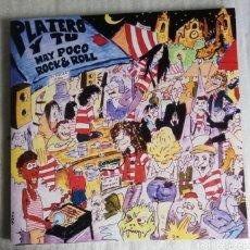 Discos de vinilo: DISCO VINILO + CD. MÚSICA PLATERO Y TÚ-HAY POCO ROCK AND ROLL.. Lote 228068178