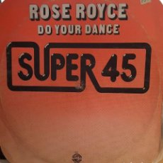 Discos de vinilo: ROSE ROYCE ‎– DO YOUR DANCE. Lote 228106130