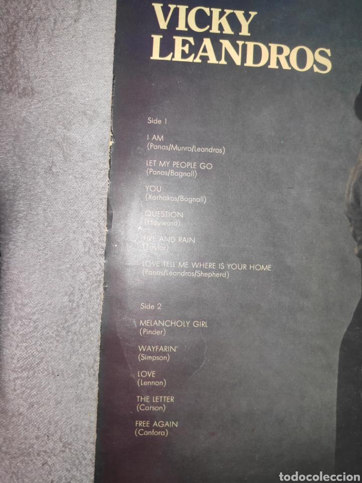 Discos de vinilo: VICKY LEANDROS - I AM - ARTISTA DE EUROVISION - VINILO - Foto 4 - 51401945
