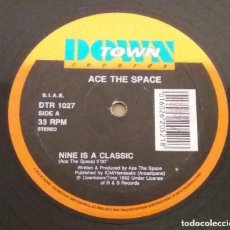 Discos de vinilo: ACE THE SPACE / NINE IS A CLASSIC / MAXI-SINGLE 12 INCH. Lote 228115405