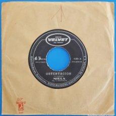 Discos de vinilo: SINGLE / MIRLA / OSTENTACIÓN (FOX-MEDIUM) - LA REALIDAD (BALADA) / DISCOS VELVET 5120 VENEZUELA. Lote 228123455