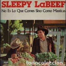Discos de vinilo: SLEEPY LA BEEF – NO ES LO QUE COMES SINO COMO MASTICAS. Lote 228128305