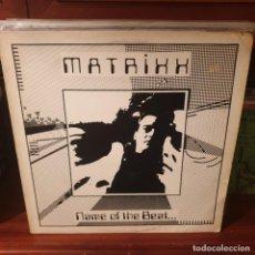 Discos de vinilo: MATRIXX / NAME OF THE BEAT.... / AMI 1989. Lote 228133510
