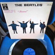 Discos de vinilo: BEATLES BANDA SONORA PELICULA SOCORRO EMI ODEON ESPAÑA RE EDICION 1J BRILLO ESPEJO EXCELENTE. Lote 228137935