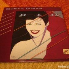 Discos de vinilo: DURAN DURAN LP RIO HARVEST ORIGINAL USA Z5 WINCHESTER 1982 + FUNDA INTERIOR. Lote 228145625