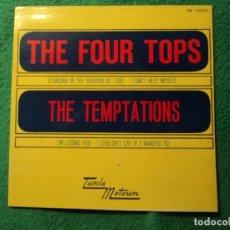 Discos de vinilo: THE FOUR TOPS: TAMLA MOTOWN - SOLO PORTADA SIN VINILO-EXCELENTE ESTADO-OPORTUNIDAD. Lote 228147070