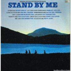 Disques de vinyle: STAND BY ME - ORIGINAL MOTION PICTURE SOUNDTRACK - LP 1986. Lote 228167860