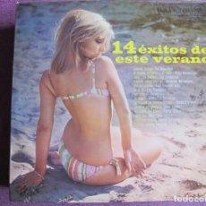 Discos de vinilo: LP - 14 EXITOS DE ESTE VERANO - VARIOS (VER FOTO ADJUNTA) (SPAIN, RCA VICTOR 1968). Lote 228176445