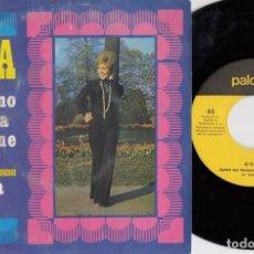 Discos de vinilo: DOVA - QUIEN NO TRABAJA NO TIENE AMOR - SINGLE DE VINILO. Lote 228182430