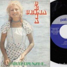 Discos de vinilo: CELIA - MANI MANI - SINGLE DE VINILO - PALOBAL. Lote 228183935