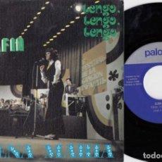 Discos de vinilo: ELENA MARIA - EL GATO SERAFIN - SINGLE DE VINILO - PALOBAL. Lote 228186660