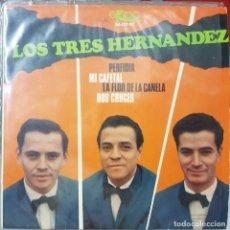 Discos de vinilo: GRUPO DE COLOMBIA LOS TRES HERNANDEZ - EP 4 CANCIONES PERFIDIA Y 3 MÁS - 1966. Lote 228191070