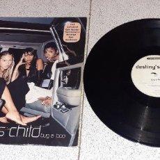 Discos de vinilo: DESTINY´S CHILD - BUG A BOO - MAXI - EUROPA - COLUMBIA - REF COL 667779 8 - LV -. Lote 228193385