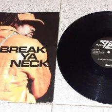 Discos de vinilo: BUSTA RHYMES - BREAK YA NECK - MAXI - UK - ARISTA - REF 74321 92233 1- LV -. Lote 228194490