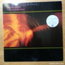 """Discos de vinilo: MICHAEL HEDGES: """"LIVE ON THE DOUBLE PLANET"""" . LP VINILO - VINYL LP 1987 WINDHAM HILL RECORDS. Lote 228198570"""
