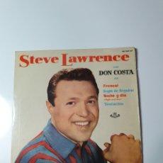 Discos de vinilo: STEVE LAWRENCE CON DON COSTA - FRENESI/BEGIN DE BEGUINE/NOCHE Y DÍA/TENTACIÓN,. Lote 228208996