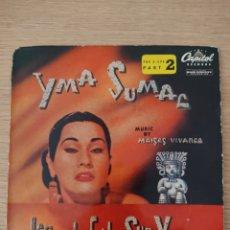 """Discos de vinilo: YMA SUMAC 7"""" LEGEND OF THE SUN VIRGIN PART 2. Lote 228239418"""