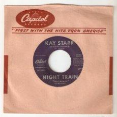"""Discos de vinilo: KAY STARR 7"""" SPAIN 45 RIDERS IN THE SKY JINETES EN EL CIELO SINGLE VINILO FUNK SOUL R&B JAZZ BIGBAND. Lote 228251785"""
