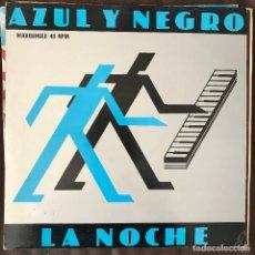 Discos de vinilo: AZUL Y NEGRO - LA NOCHE (THE NIGHT) - 12'' MAXISINGLE MERCURY 1982. Lote 228264525