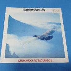 Discos de vinilo: DISCO DE VINILO - EXTREMODURO - QUEMANDO TUS RECUERDOS - 1991. Lote 228268300