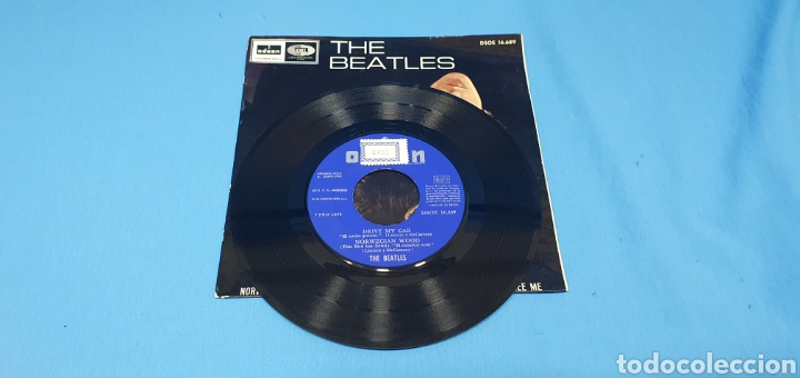 Discos de vinilo: DISCO DE VINILO - THE BEATLES - DRIVE MY CAR 1966 - Foto 2 - 228272380