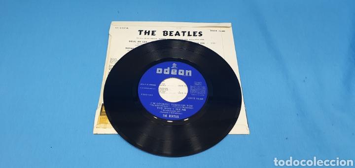 Discos de vinilo: DISCO DE VINILO - THE BEATLES - DRIVE MY CAR 1966 - Foto 3 - 228272380