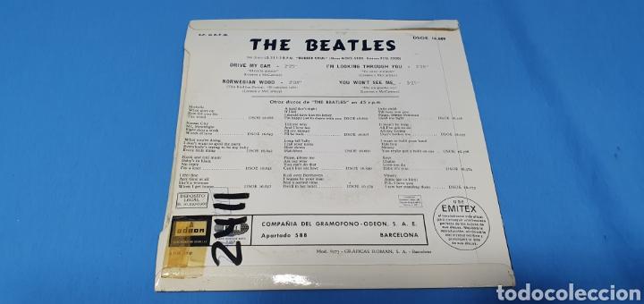 Discos de vinilo: DISCO DE VINILO - THE BEATLES - DRIVE MY CAR 1966 - Foto 4 - 228272380