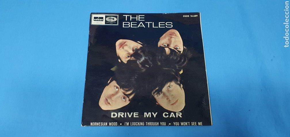 DISCO DE VINILO - THE BEATLES - DRIVE MY CAR 1966 (Música - Discos - Singles Vinilo - Pop - Rock Internacional de los 50 y 60)