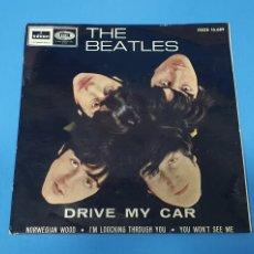 Discos de vinilo: DISCO DE VINILO - THE BEATLES - DRIVE MY CAR 1966. Lote 228272380