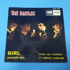 Discos de vinilo: DISCO DE VINILO - THE BEATLES - GIRL - 1966. Lote 228277748
