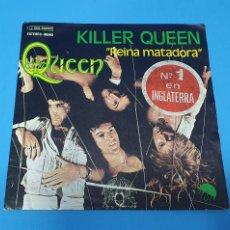 """Discos de vinilo: DISCO DE VINILO - QUEEN - KILLER QUEEN """" REINA MATADORA"""" 1974. Lote 228279475"""