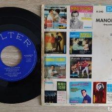 Discos de vinilo: MANOLO ESCOBAR. Lote 228281835