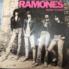 Discos de vinilo: OJO SOLO PORTADA, RAMONES. Lote 228283645