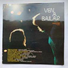 Discos de vinilo: VEN A BAILAR. - VARIOS ARTISTAS. LP -. TDKDA79. Lote 228289140