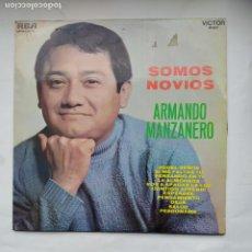 Discos de vinilo: ARMANDO MANZANERO. SOMOS NOVIOS. LP. TDKLP. Lote 228289395