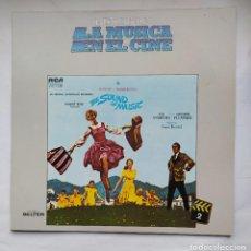 Discos de vinilo: HISTORIA DE LA MUSICA EN EL CINE Nº 2 - THE SOUND OF MUSIC. RODGERS AND HAMMERSTEIN'S LP. TDKDA79. Lote 228289750