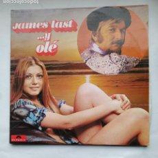 Discos de vinilo: JAMES LAST Y SU ORQUESTA. OLE. DOBLE LP. TDKLP. Lote 228290265