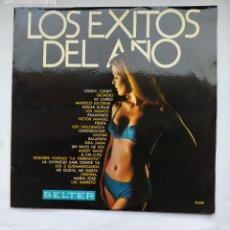 Discos de vinilo: LOS EXITOS DEL AÑO (SALOME, MANOLO ESCOBAR, VICTOR MANUEL, LOS MISMOS...) LP. BELTER TDKLP. Lote 228290340