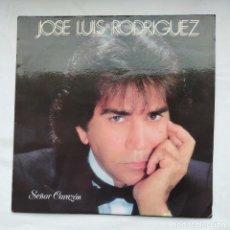 Discos de vinilo: JOSÉ LUIS RODRÍGUEZ. EL PUMA. SEÑOR CORAZÓN. LP. TDKLP. Lote 228290470