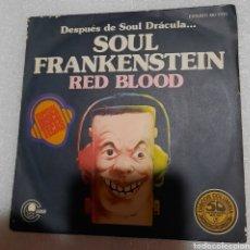 Discos de vinilo: RED BLOOD - SOUL FRANKENSTEIN. Lote 228296825